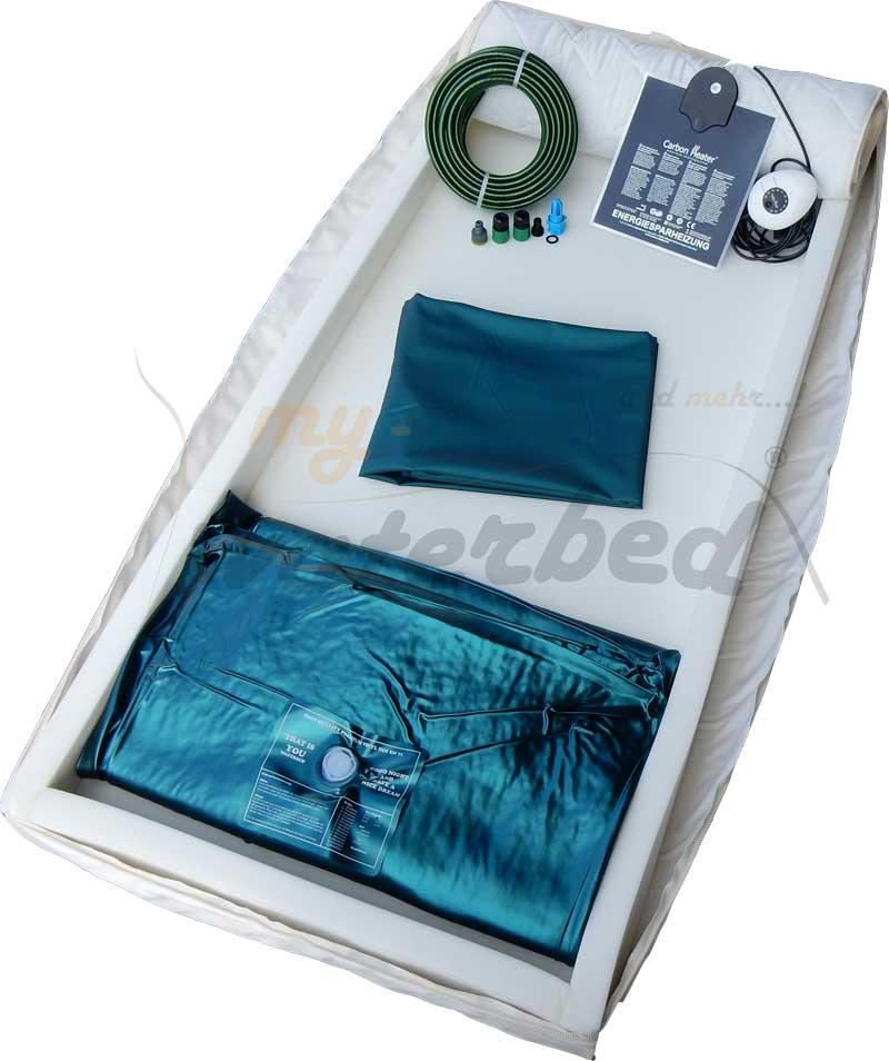 leichtwasserbett wassermatratze f r lattenrost hochbett oder wohnmobil ebay. Black Bedroom Furniture Sets. Home Design Ideas